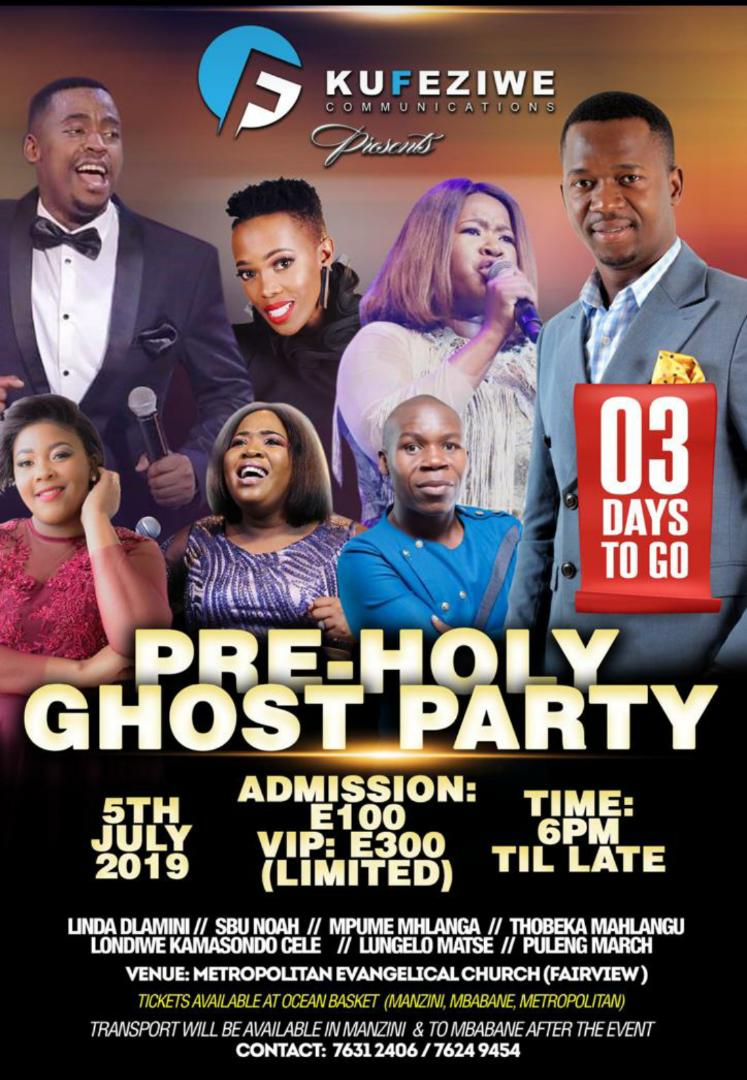 Pre Holy-Ghost Party