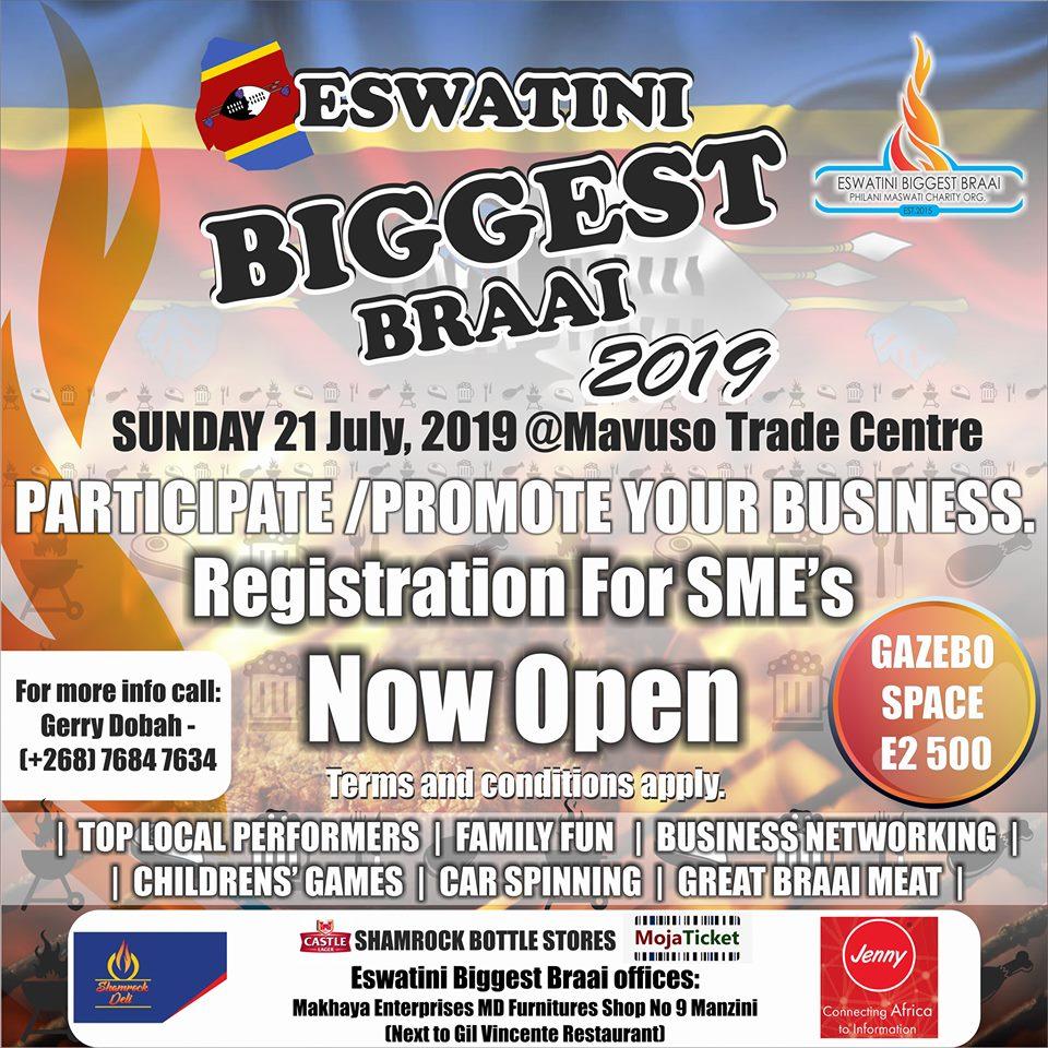 Eswatini Biggest Braai