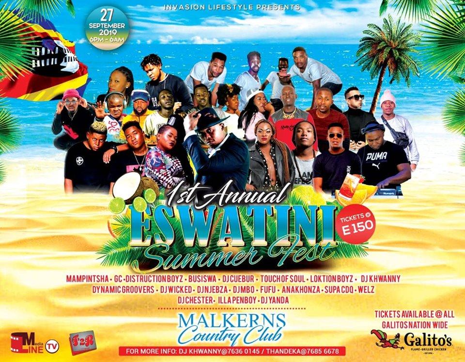 Annual Eswatini Summer Festival